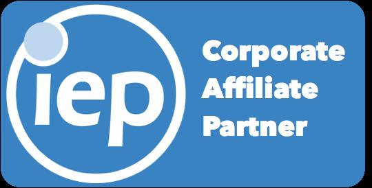 IEP Corporate Affiliate Partner Badge